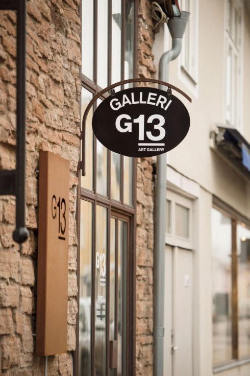 Galleri G13 i Borgholm.